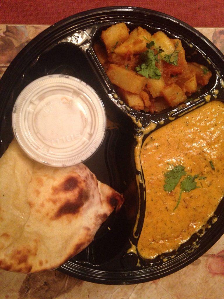Chicken Korma Lunch Thali